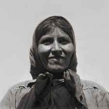 Mujer de la familia del cacique Temai