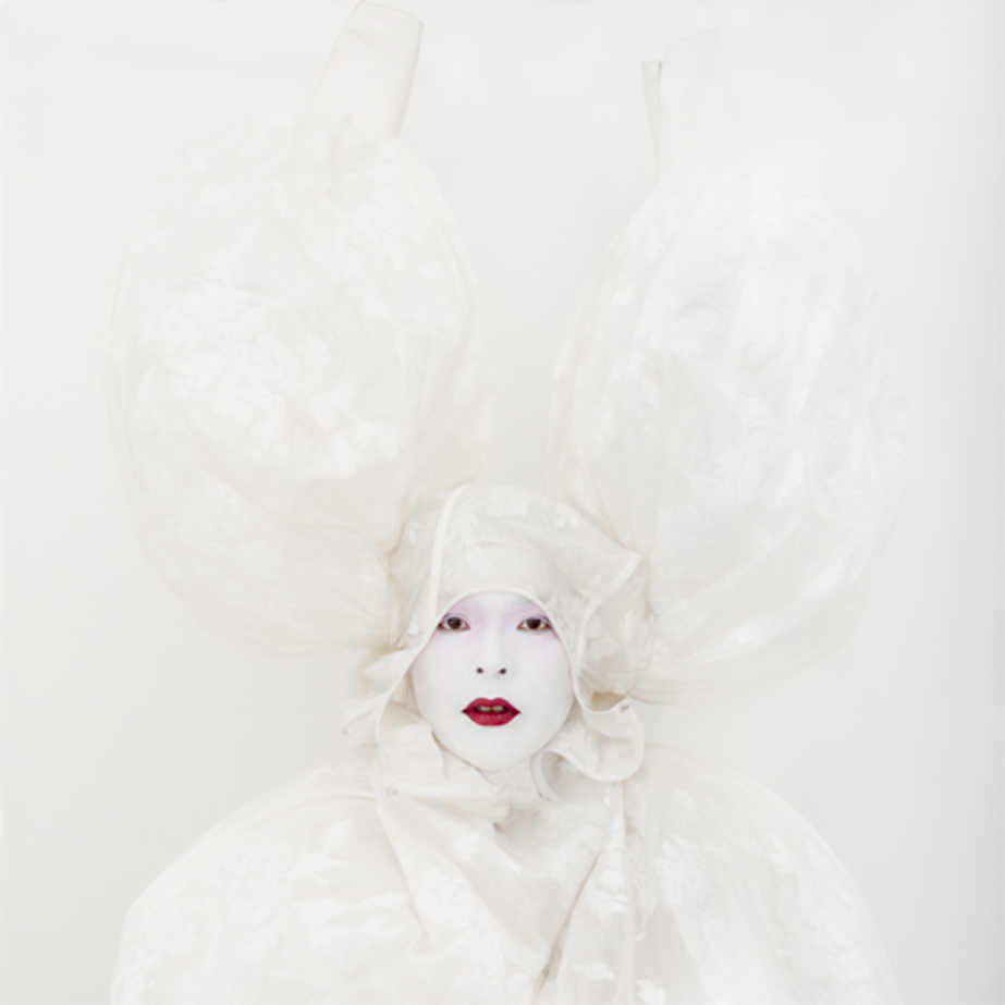 Painting (Madame de Pompadour by François Boucher). Self-portrait