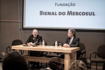 lançamento 12 Bienal_Renato Rizzo e Gilberto Schwartsmann