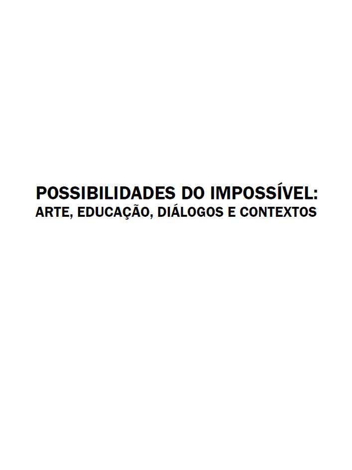 Possibilidades do Impossível - Livro do Programa Educativo da 10ª Bienal do Mercosul