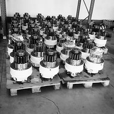 We have an alternative bearing and cooling system to avoid problems of high failure rates for hydraulic motors on streamer and wide tow winches