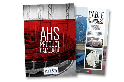 We present our product catalogue including cable carousels, cable storage and handling solutions, marine seismic products, and hydraulic components like HPUs