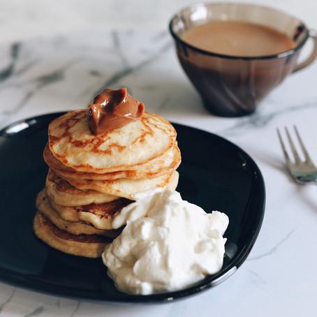 High Protein Skyr Pancakes: Gluten Free