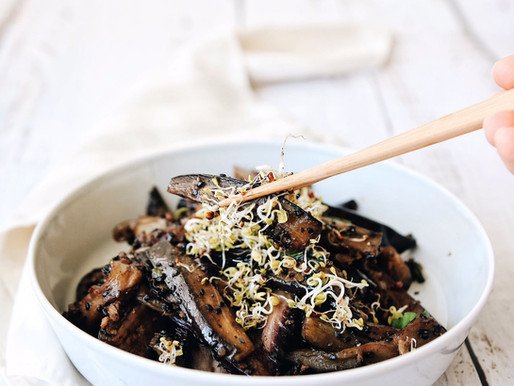 Chinese Inspired Braised Eggplant