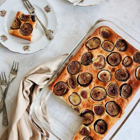 Gluten Free Fresh Fig Cake