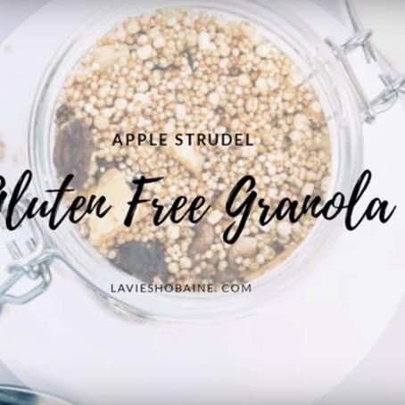 Apple Strudel Granola