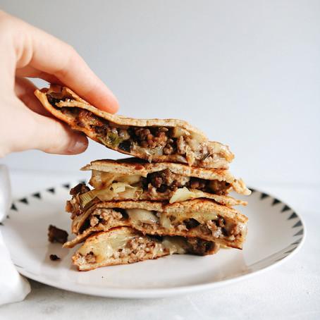 Quesadilla od zobenih palačinki