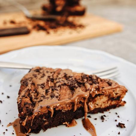Ana's Brownie and Cookie Dough Cake