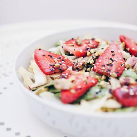 Toplo-hladna proljetna salata
