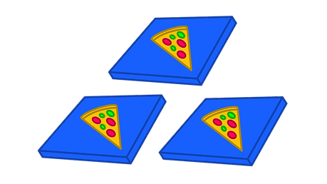 Edexcel GCSE Maths Factors and multiples Ben is hosting a social at his house and orders 32 slices of pizza. He is in doubt, however, of how many friends he can invite over such that everyone has the same amount of pizza. He can call either 3 friends, 7 friends or 15 friends over. What number of friends can he invite to the party?