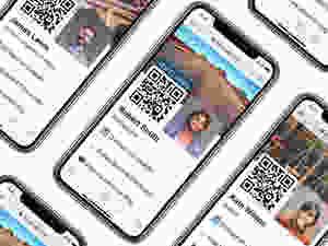 Digital business cards, online networking