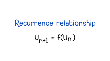 Recurrence relationships