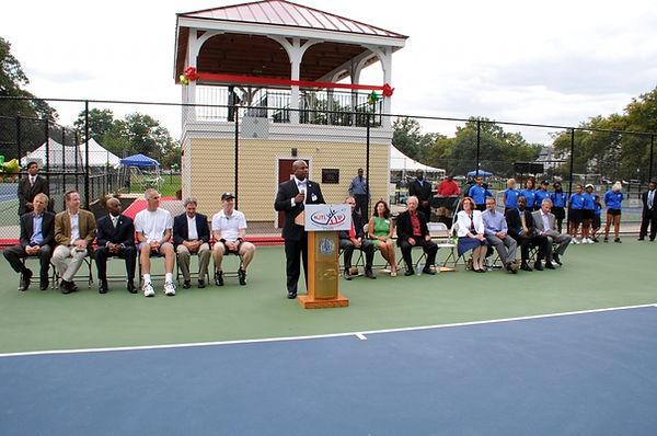 Cadwalader Park Dedication Ceremony