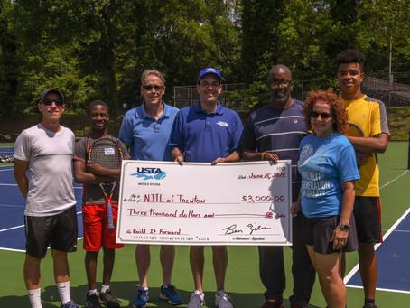 NJTL of Trenton Receives $9,000 in Grants From USTA