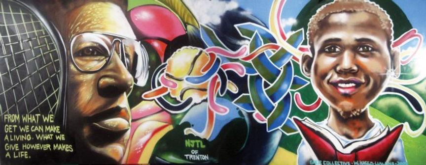 Arthur Ashe Mural