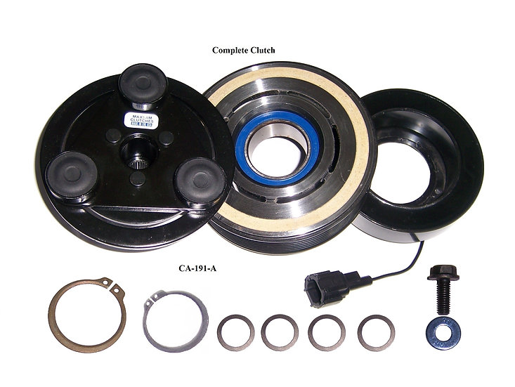 AC CLUTCH Fit: 2005 - 2018 Nissan Frontier 4.0 Liter | OE Compressor, USA Made