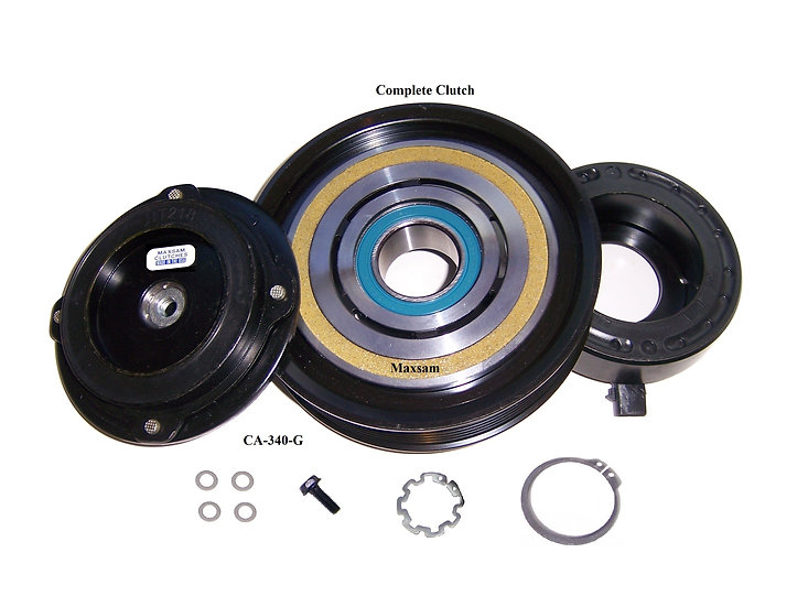 AC Clutch Fits: 2005 - 2015 Honda Pilot 3.5 OE Compressor