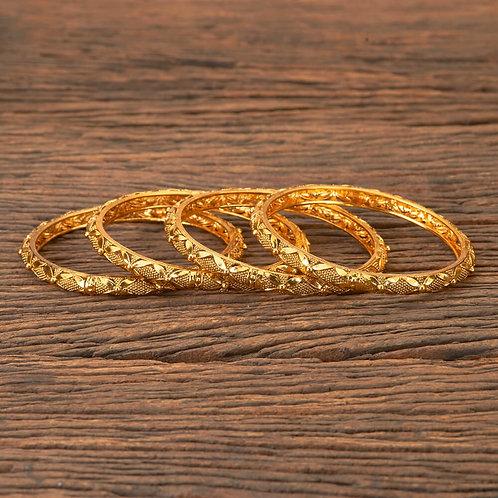 Bracelets indien type Bangles plaqué or