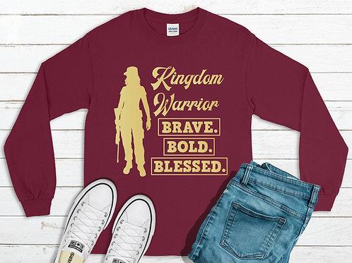 Long Sleeve Kindom Warrior Shirt