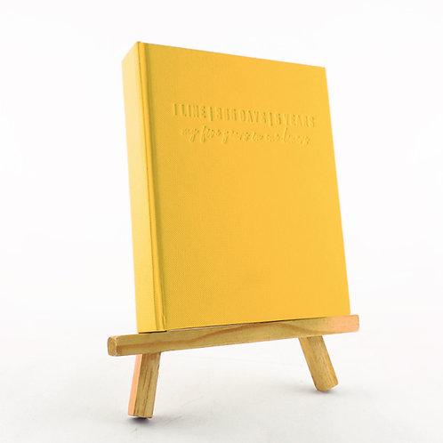 1 Line Journal - Yellow