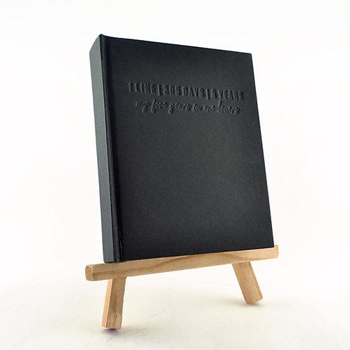 1 Line Journal - Black