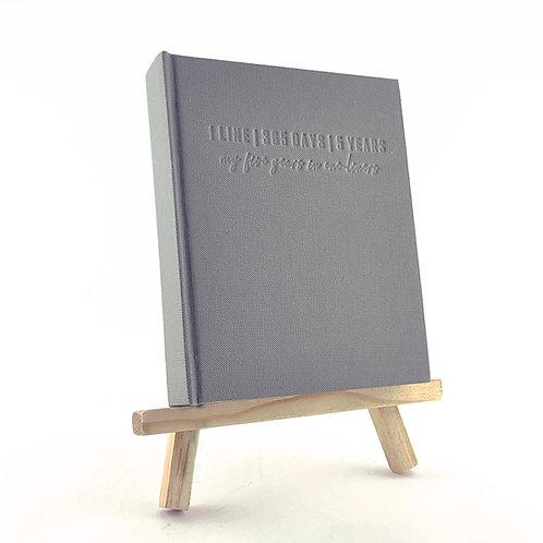 1 Line Journal - Grey