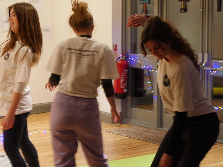 DANCING MINDFULNESS TRAINING