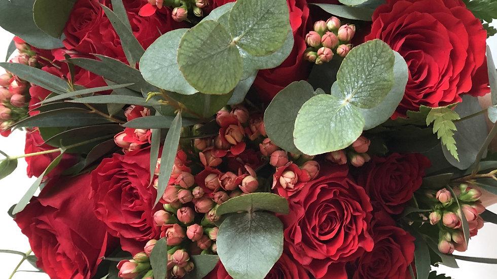 Flower Arrangement - Valentine's Day Special