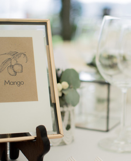 Wedding Inspiration - Table Names