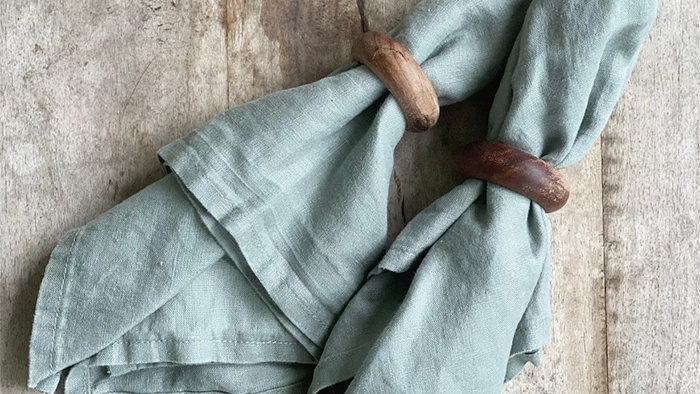 Linen Napkins - 4 pcs