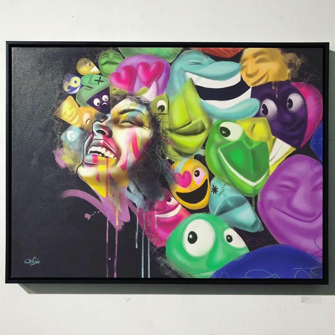 OliGa at ArtShare LA