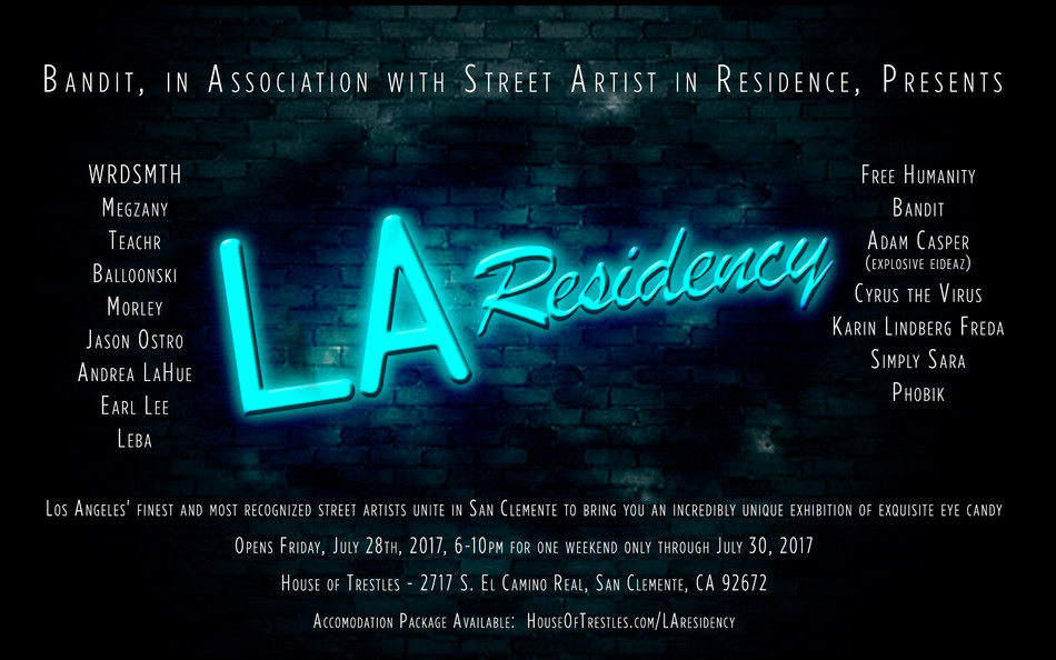 Bandit and SAiR Present the LA RESIDENCY