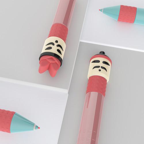 Qin Warrior Colored Pencil