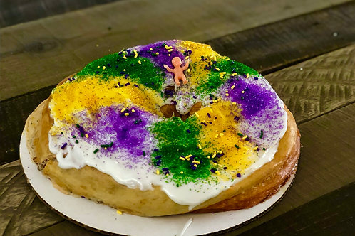Small King Cake - 2 Filling or Specialty