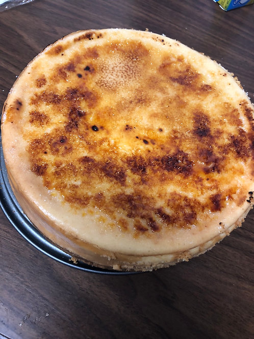 Creme' Brulee Cheesecake- Store Pickup Only