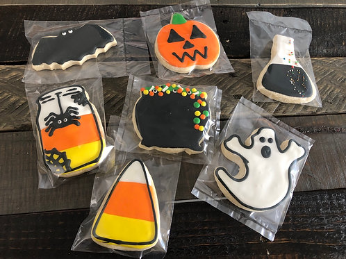 Halloween Sugar Cookies - One Dozen