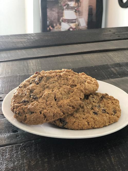 Oatmeal Raisin Cookies - Half Dozen - Store Pick Up Only