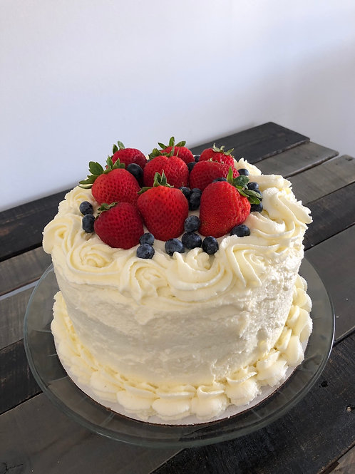 Berry Chantilly Cake - Store Pickup Only