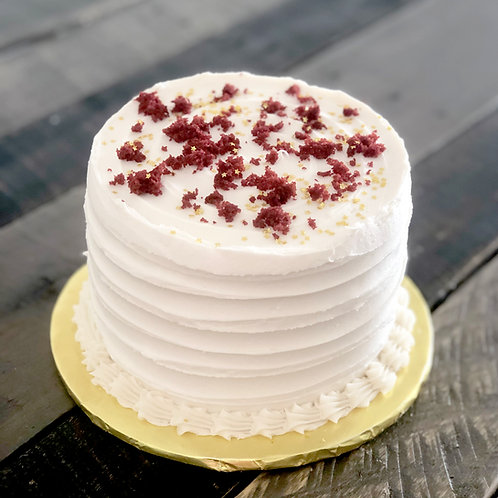"6"" Red Velvet Cake - Store Pickup Only"
