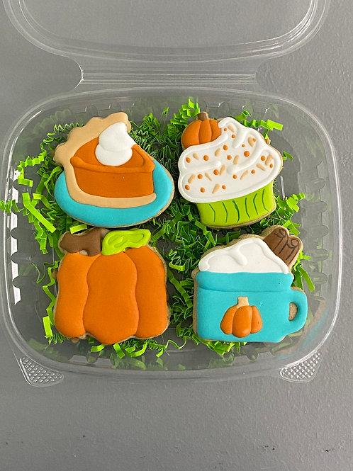 Mini Pumpkin Spice Cookies