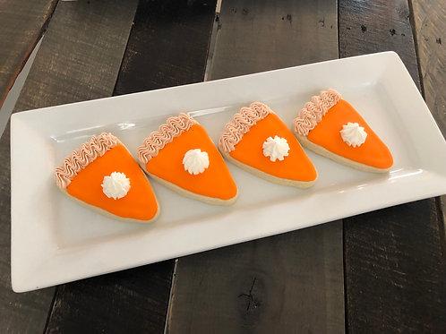 Pumpkin Pie Sugar Cookies - One Dozen