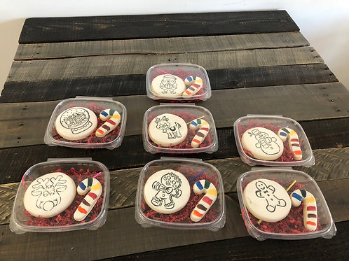 Paint Your Own Christmas Sugar Cookie Set