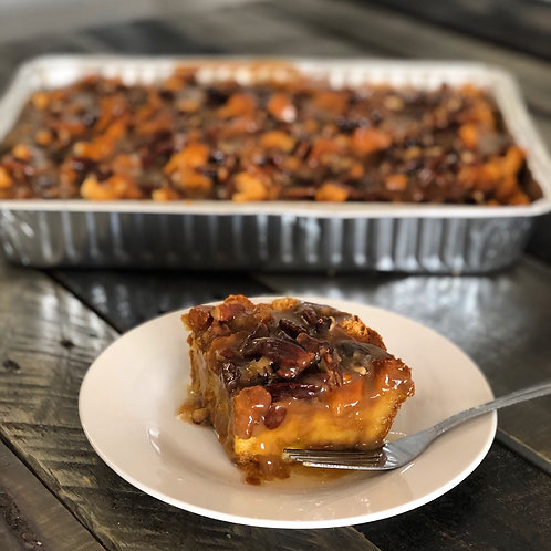 Pumpkin Praline Bread Pudding- Store Pickup Only