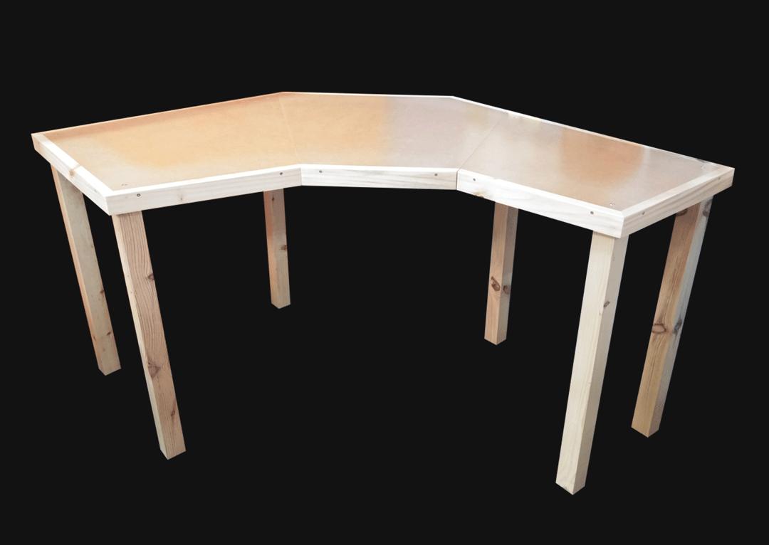 mesa de canto para costura