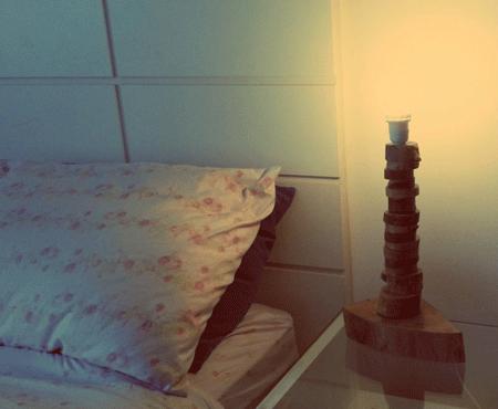 luminária de poda