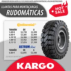 Oferta en Hot Sale de llantas rudomaticas de montacargas en marca Continental Tires y Astrum Blue