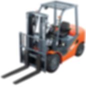 Montacargas Heli Nuevo Serie H capacidad de 2.5 toneladas