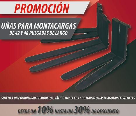 PROMOCION KARGO UÑAS MONTACARGAS MARZO.j
