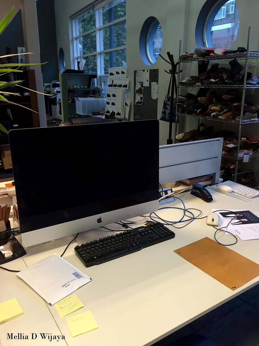My desk!