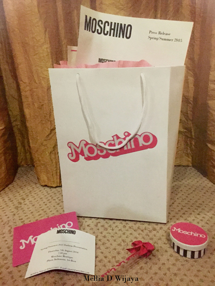 MOSCHINO Press Release Kit